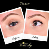 dollbaby paris strip eyelashes wearing