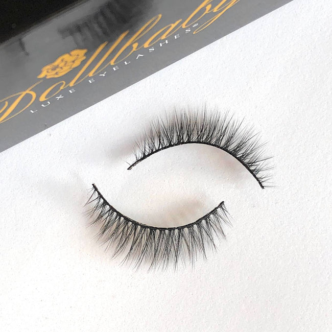 dollbaby girl next door natural faux mink eyelashes 1
