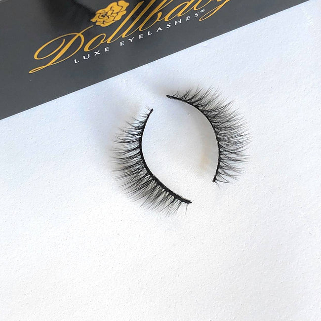 dollbaby girl next door natural faux mink eyelashes 2