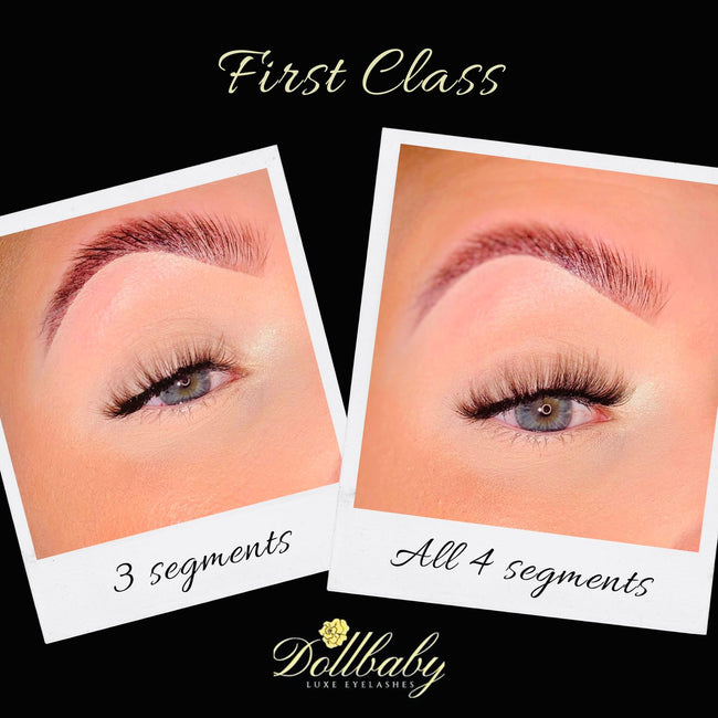 chloe first class demi wispies precut lashes dollbaby on the eye