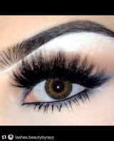 'Sasha' 3D Dramatic Stacked Mykonos Effect Wispy Eyelashes