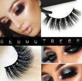 'Seductress' Platinum Mink Stacked Russian Volume 3D Eyelashes