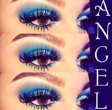 'Angel' Platinum Quad Stacked Winged Eyelashes