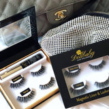 dollbaby london magnetic eyeliner and lashes kit lifestyle picture