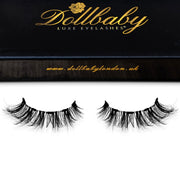 'Marbella' Magnetic Eyelashes - Faux Mink Clear Band Wispies