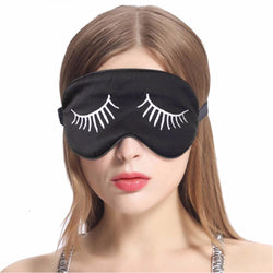 100% Silk Eyelash Embroidered Sleep Mask