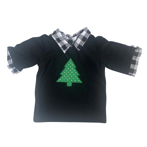 Buffalo Check Christmas Tree Polo