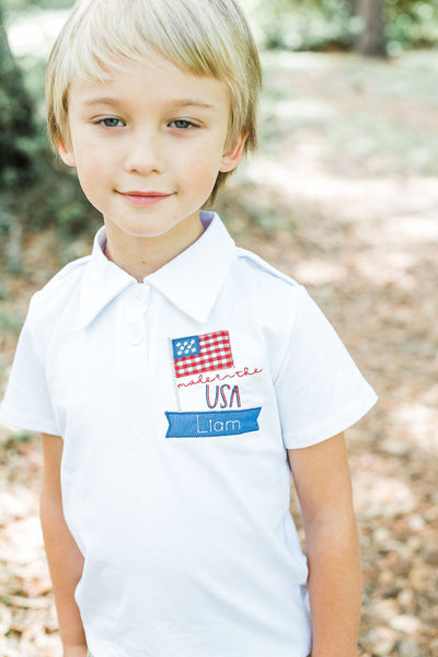 Made in the USA Polo