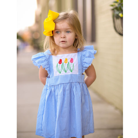 Spring Tulips Dress