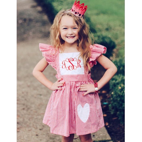 Monogram Heart Dress
