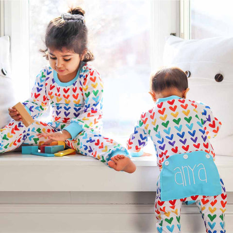 Rainbow Love Pajamas