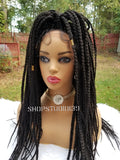 ( ROCKIE) Sexy box braided lace front wig