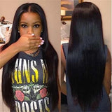 Black ShowStopper Brazilian Human hair full lace wig with baby hair the lace human hair wigs