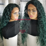 (Annette) Water wave lace front wig