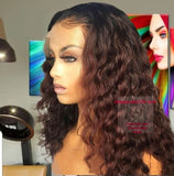 Ombre Human Hair  Lace Front / Baby Hair and Pre-Plucked Hairline