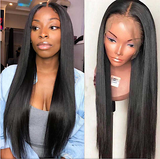 celebrity wow factor 30 inch Beautiful straight Virgin Human Hair Lace Front Wig With Free part spaceing 13x6 inches 200 density