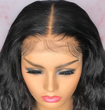 Holy 100% Human Hair Lace Front Body wave wig
