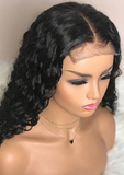 Virgin Remy Human Hair water wave lace front wig