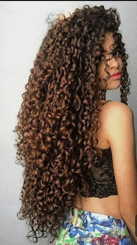 (Stacy)Curly lace front wig