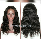 Deep wave Human Hair Lace front wig