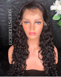 Loose curl Lace front with with Free parting space