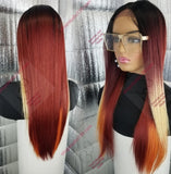 This girl is on Fire lace front