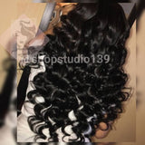 Beautiful Human Hair Loose Curl Lace Front Wig