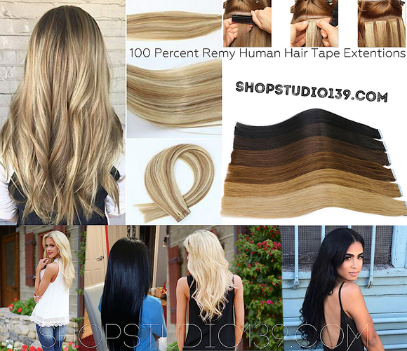 5 star Celebrity Human Tape in Hair Extensions 20 inch 20 pcs High quality Remy Straight Hair