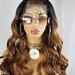 Yolanda Wavy Top Knot Lace Front Wig With Baby Hair