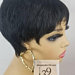 Sassy Super cute pixie wig with tapered back