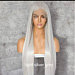 Free Part  swiss lace front 6x14 wig 24 inches