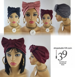 The perfect Head Wrap for Chemo Alopecia lupus or just wanting to wear for style
