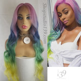 Unicorn is a celebrity inspired body wave lace front wig with