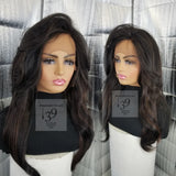 (Melvina) Free Part lace front wig for all skin tones