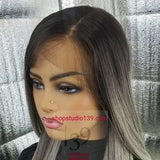 (Kitty) Transparent  HD lace with pre plucked hairline
