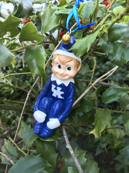 UK Elf Ornament