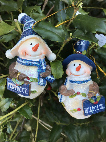 Collegiate Frosty Ornament