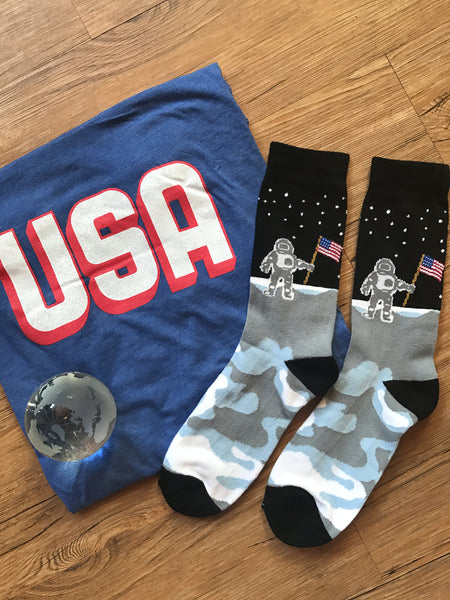 Moon Man Socks