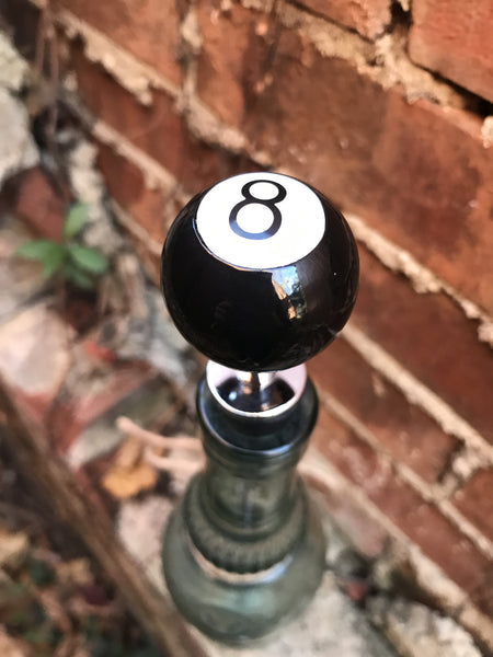 8 Ball Bottle Stopper