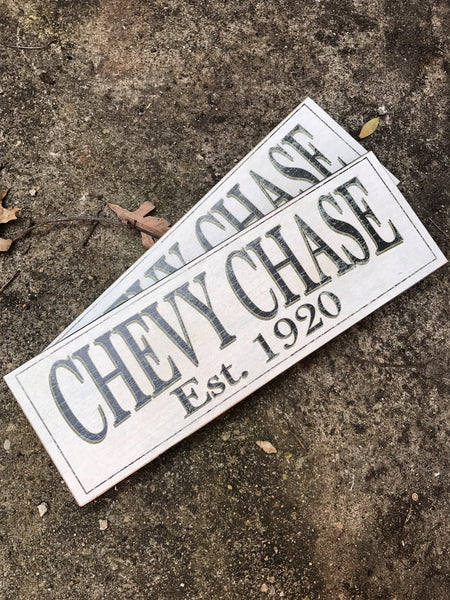 Chevy Chase Sign