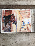 The Stables Print