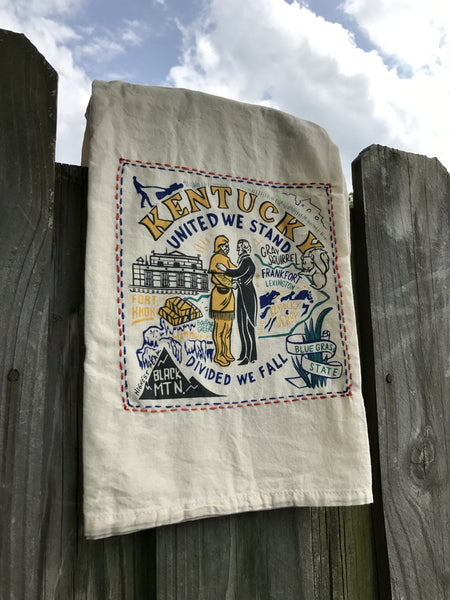 Bluegrass State Dish Towel