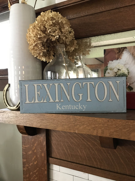 LEXINGTON, Kentucky Sign