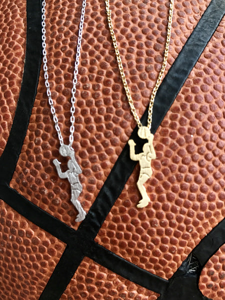Basketball Player Necklace