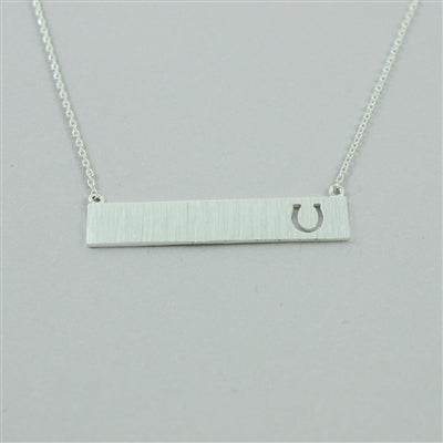 Horseshoe Cutout Necklace