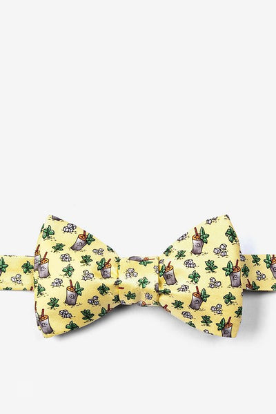 Mint Julep Afternoon Silk Bow Tie