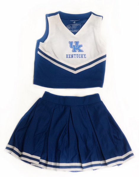 UK Cheer Dress 2 Piece-White Top