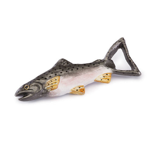 Trout Cast Iron Bottle Opener