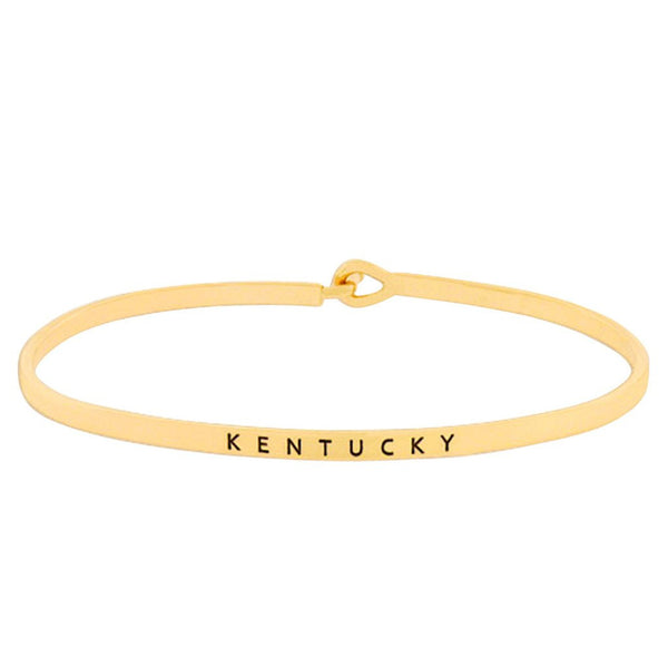Commonwealth Bangle--3 Colors