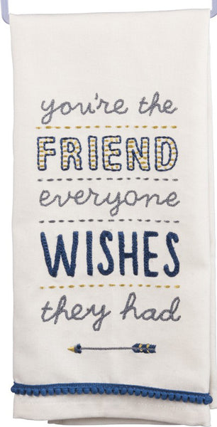 Best Friend Dish Towel